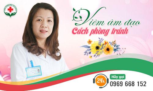 phòng tránh viêm âm đạo