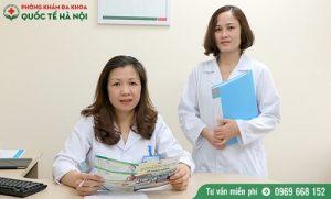 quy trình khám phụ khoa
