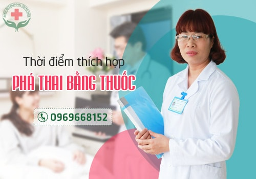 điều kiện phá thai bằng thuốc