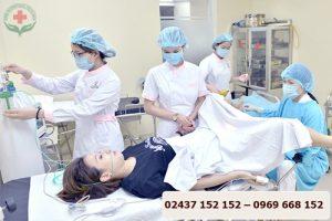 điều trị viêm lộ tuyến cổ tử cung bằng phương pháp áp lạnh