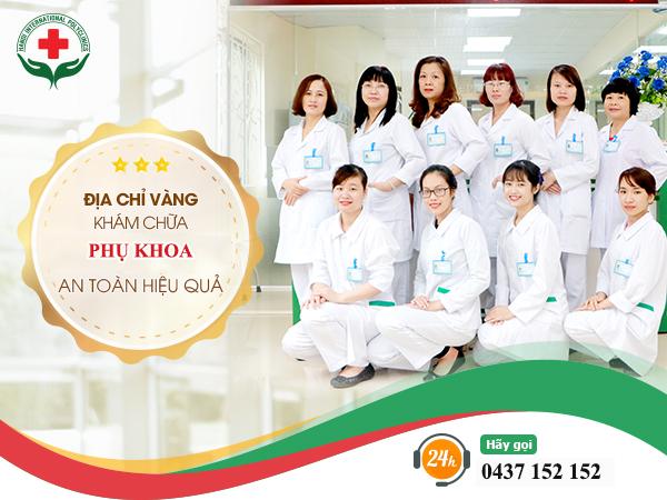 địa chỉ vàng khám chữa phụ khoa an toàn hiệu quả ở Hà Nội