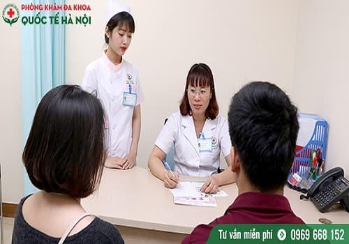 khám sức khỏe sinh sản ở hà nội